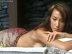 Maggie Q Topless Photoshoot