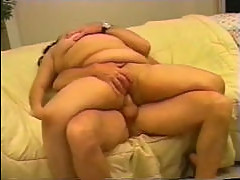 Sex with plump asian wife