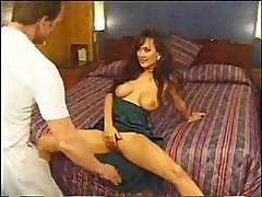 Asia Carrera And Her Large Boobies Starring In A Hardcore Vintage Vid