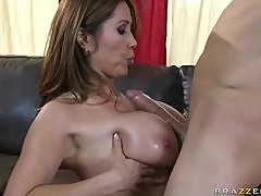 Big Breasted Asian Kianna Dior Sucks and Rides a Big Dick