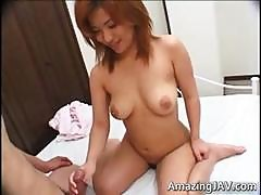 Busty Japanese Redhead Teen Fucking Part5