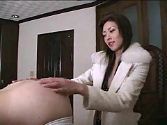 Femdom with dude ass fingering