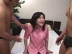 Japanese Mature Anal and DP 6 (Uncensored)