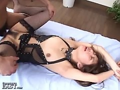 Uncensored Japanese Erotic Fetish Sex Sexy Teen Get Double Team