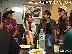 Hikaru Houzuki Asian Slut Gets Drunk And..