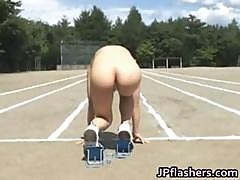 Asian Amateur In Nude Track And Field Part4