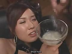 Gorgeous Gokkun Jizz Drinker