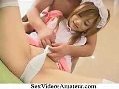 Rui yazawa hot asian house maid enjoys hard fucking