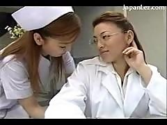 Busty Nurse Kissing Getting Her Nipples Sucked..
