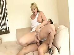 Blonde Bubblebutt Porn Star Gets Rammed By A Glass Dildo And Cock