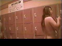 Voyeur Japanese Teens In The Locker Room Part1