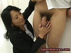 Natsumi Kitahara Rimming Some Guy Part1