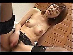 Cum all over this Japanese chick
