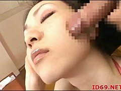Sleeping Asian Gets Her Face Fucked
