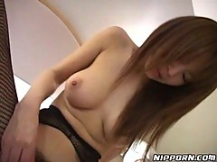 Hot Japanese solo masturbation